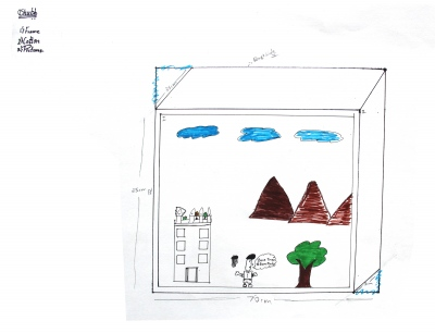Shubh's design for the kitchen plant box